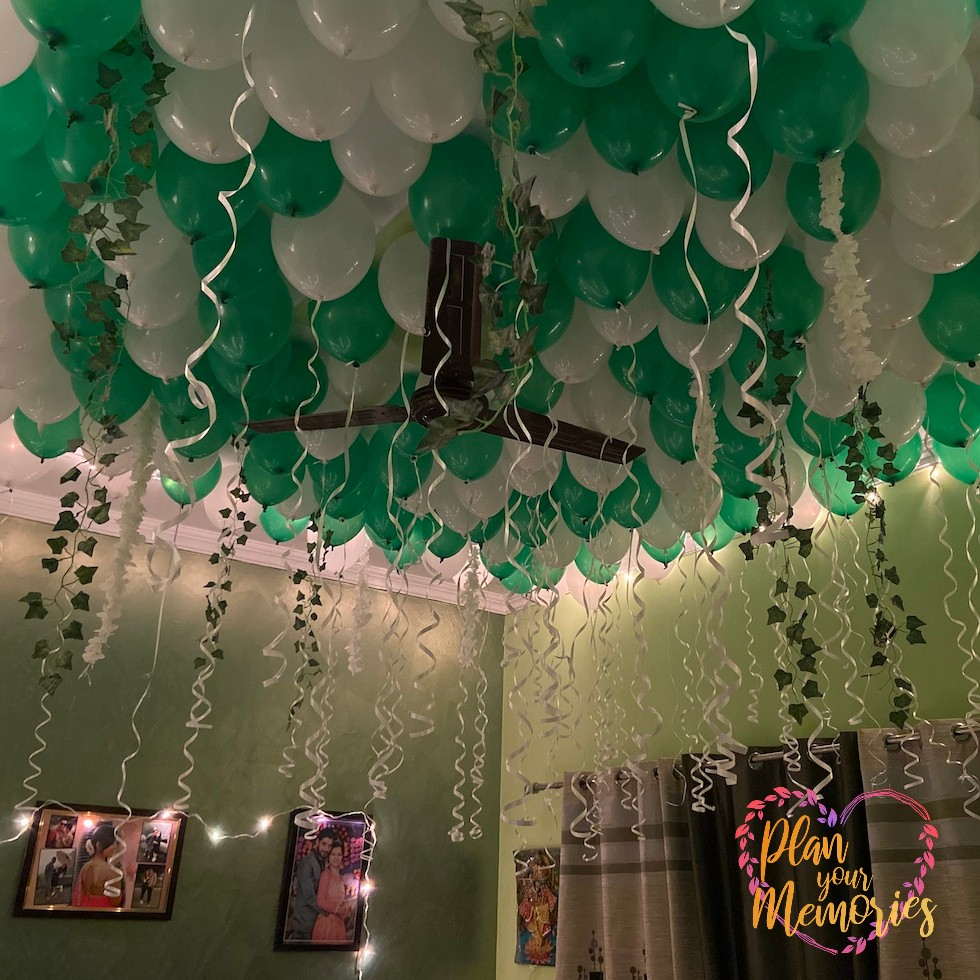 Balloon Room Decoration